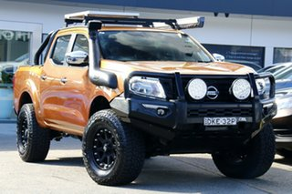 2016 Nissan Navara D23 S2 ST Orange 6 Speed Manual Utility.