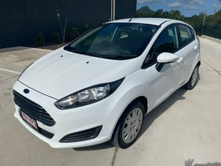 2015 Ford Fiesta WZ MY15 Ambiente PwrShift White 6 Speed Sports Automatic Dual Clutch Hatchback.