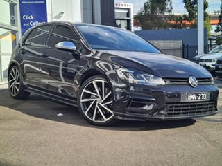 2019 Volkswagen Golf 7.5 MY19.5 R DSG 4MOTION Black 7 Speed Sports Automatic Dual Clutch Wagon.