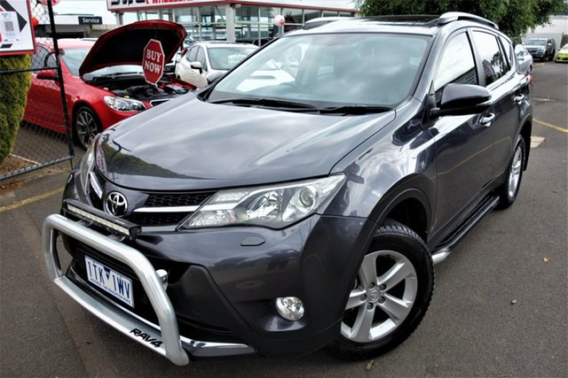 Used Toyota RAV4 ASA44R Cruiser AWD Seaford, 2013 Toyota RAV4 ASA44R Cruiser AWD Grey 6 Speed Sports Automatic Wagon