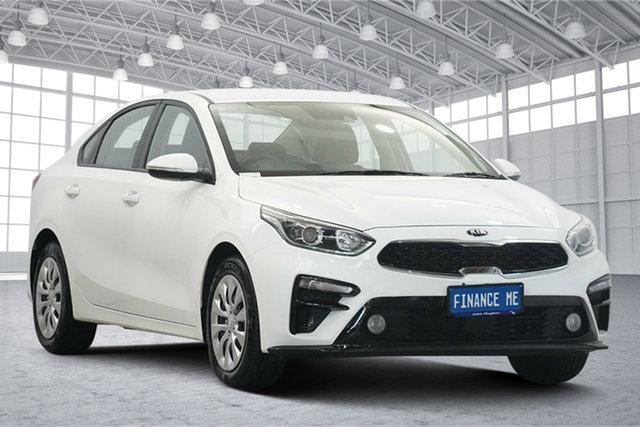 Used Kia Cerato BD MY20 S Victoria Park, 2019 Kia Cerato BD MY20 S White 6 Speed Sports Automatic Sedan