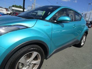 2017 Toyota C-HR NGX10R S-CVT 2WD Teal Green 7 Speed Constant Variable Wagon