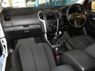 2014 Isuzu D-MAX TF MY15 LS-U HI-Ride (4x4) White 5 Speed Manual Crew Cab Utility.