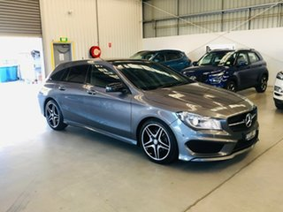 2016 Mercedes-Benz CLA-Class X117 806MY CLA200 Shooting Brake DCT Grey 7 Speed.