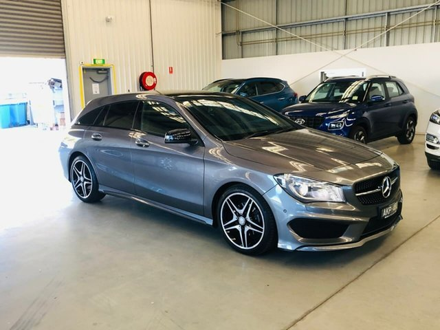 Used Mercedes-Benz CLA-Class X117 806MY CLA200 Shooting Brake DCT Epsom, 2016 Mercedes-Benz CLA-Class X117 806MY CLA200 Shooting Brake DCT Grey 7 Speed