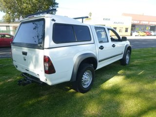 2007 Holden Rodeo RA LX White Manual Utility.