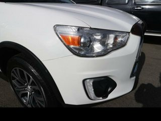2015 Mitsubishi ASX XB MY15 LS (2WD) White Continuous Variable Wagon