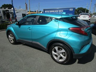 2017 Toyota C-HR NGX10R S-CVT 2WD Teal Green 7 Speed Constant Variable Wagon.