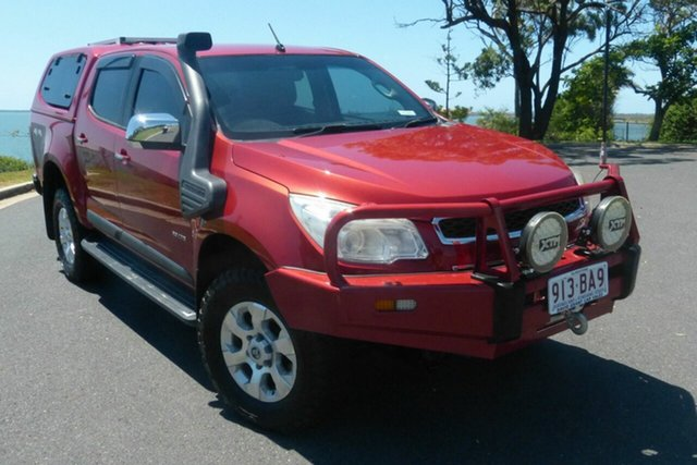 Used Holden Colorado RG MY13 LTZ Crew Cab Gladstone, 2012 Holden Colorado RG MY13 LTZ Crew Cab Red 6 Speed Sports Automatic Utility