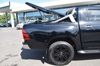2017 Toyota Hilux GUN126R SR5 Double Cab Black 6 Speed Sports Automatic Utility