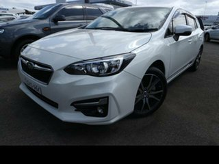 2018 Subaru Impreza MY18 2.0I-L (AWD) White Continuous Variable Hatchback.