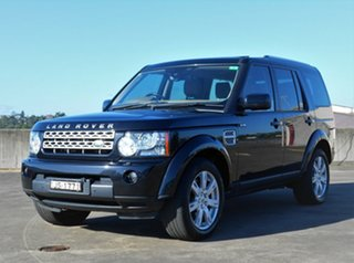 2011 Land Rover Discovery 4 Series 4 MY11 SDV6 CommandShift HSE Black 6 Speed Sports Automatic Wagon