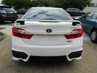 2015 Toyota Aurion GSV50R Sportivo SX6 White 6 Speed Sports Automatic Sedan.