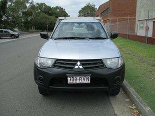 2011 Mitsubishi Triton MN MY11 GL 4x2 Silver 5 Speed Manual Cab Chassis.