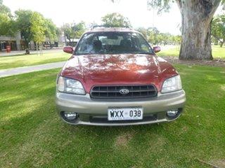 2000 Subaru Outback 2Gen Burgundy Automatic Wagon.