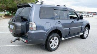 2007 Mitsubishi Pajero NS VR-X Blue 5 Speed Manual Wagon