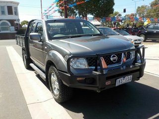 2008 Nissan Navara D40 ST-X (4x4) Grey 6 Speed Manual Dual Cab Pick-up.
