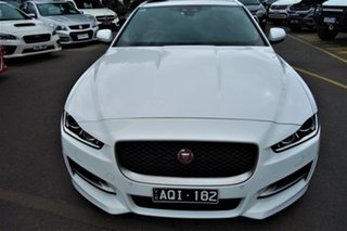 2016 Jaguar XE X760 MY17 R-Sport White 8 Speed Sports Automatic Sedan