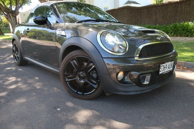 Used Mini Coupe R58 Cooper S Prospect, 2012 Mini Coupe R58 Cooper S Grey 6 Speed Manual Coupe