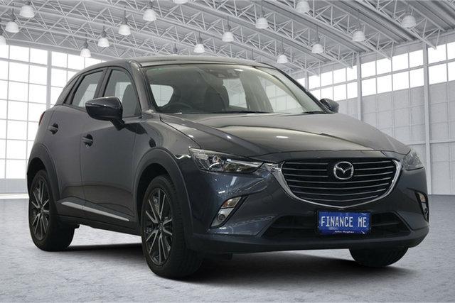 Used Mazda CX-3 DK2W7A Akari SKYACTIV-Drive Victoria Park, 2017 Mazda CX-3 DK2W7A Akari SKYACTIV-Drive Grey 6 Speed Sports Automatic Wagon
