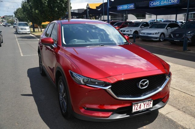 Used Mazda CX-5 MY18 (KF Series 2) GT (4x4) Toowoomba, 2018 Mazda CX-5 MY18 (KF Series 2) GT (4x4) Red 6 Speed Automatic Wagon