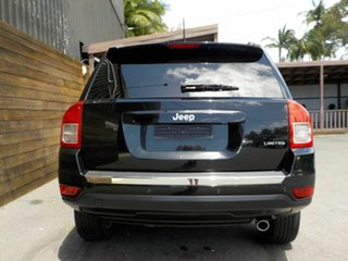2012 Jeep Compass MK MY12 Limited CVT Auto Stick Black 6 Speed Constant Variable Wagon