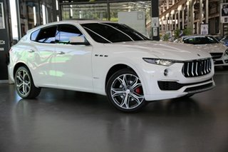 2018 Maserati Levante M161 MY19 GranLusso Q4 White 8 Speed Sports Automatic Wagon.