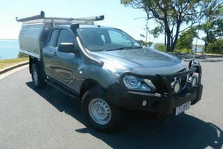 2015 Mazda BT-50 UR0YF1 XT Freestyle Blue 6 Speed Sports Automatic Cab Chassis.