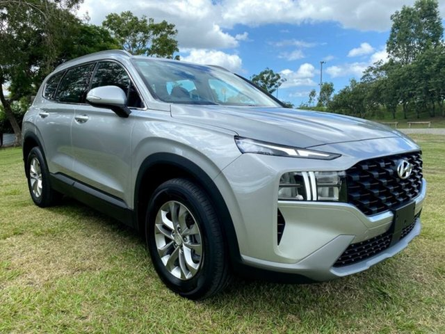 New Hyundai Santa Fe Tm.v3 MY21 Mount Gravatt, 2020 Hyundai Santa Fe Tm.v3 MY21 Typhoon Silver 8 Speed Sports Automatic Wagon