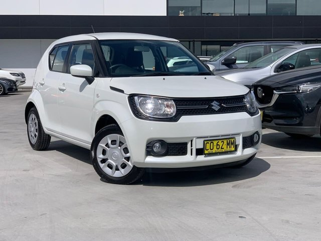 Used Suzuki Ignis MF GL Liverpool, 2016 Suzuki Ignis MF GL White 1 Speed Constant Variable Hatchback