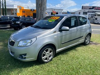 2010 Holden Barina TK MY10 Silver 5 Speed Manual Hatchback.