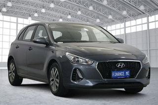 2020 Hyundai i30 PD2 MY20 Active Iron Gray 6 Speed Sports Automatic Hatchback.