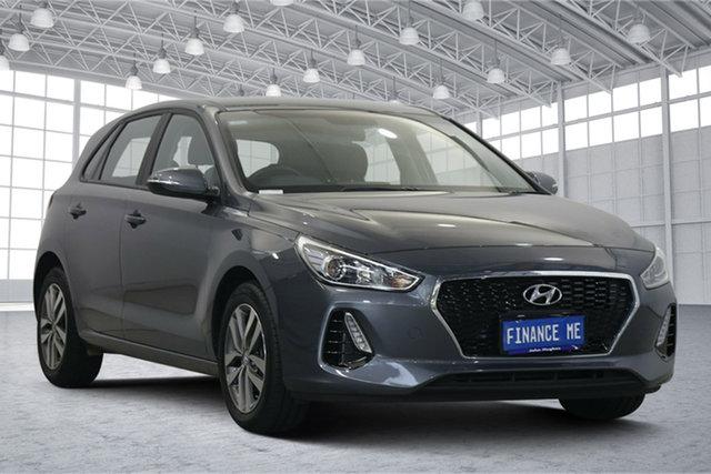 Used Hyundai i30 PD2 MY20 Active Victoria Park, 2020 Hyundai i30 PD2 MY20 Active Iron Gray 6 Speed Sports Automatic Hatchback