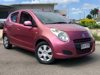 2010 Suzuki Alto GF GL Pink 5 Speed Manual Hatchback