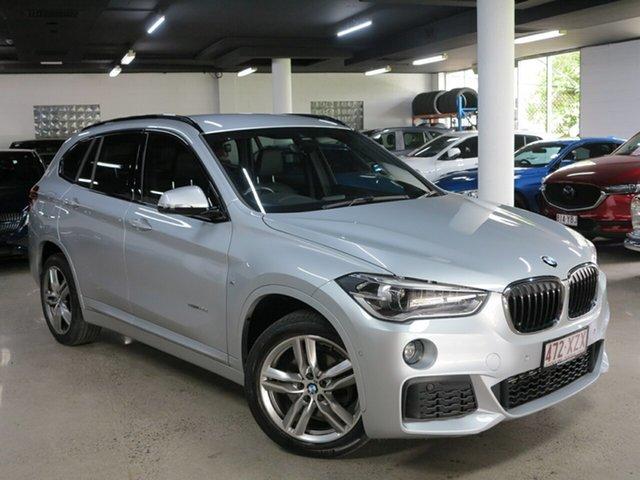 Used BMW X1 F48 sDrive18d Steptronic Albion, 2018 BMW X1 F48 sDrive18d Steptronic Silver 8 Speed Sports Automatic Wagon
