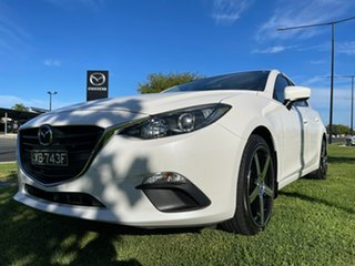 2014 Mazda 3 BM5278 Neo SKYACTIV-Drive White 6 Speed Sports Automatic Sedan.