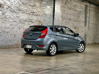 2017 Hyundai Accent RB6 MY18 Sport Silver 6 Speed Sports Automatic Hatchback