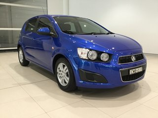 2012 Holden Barina TM Blue 5 Speed Manual Hatchback.
