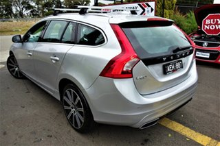2014 Volvo V60 F Series MY14 D4 Geartronic Luxury Silver 6 Speed Sports Automatic Wagon