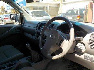 2008 Nissan Navara D40 ST-X (4x4) Grey 6 Speed Manual Dual Cab Pick-up