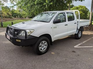 2011 Toyota Hilux KUN26R MY10 SR White 5 Speed Manual Utility