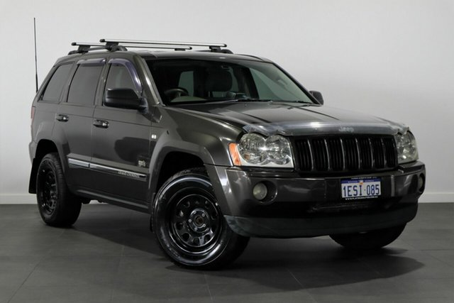 Used Jeep Grand Cherokee WH MY2006 65th Anniversary Bayswater, 2006 Jeep Grand Cherokee WH MY2006 65th Anniversary Brown 5 Speed Automatic Wagon