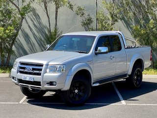 2007 Ford Ranger PJ XLT Super Cab Silver 5 Speed Automatic Utility