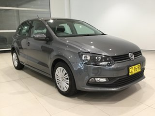 2015 Volkswagen Polo 6R MY15 66TSI DSG Trendline Pepper Grey 7 Speed Sports Automatic Dual Clutch.