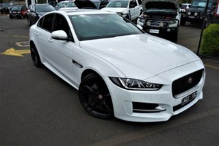 2016 Jaguar XE X760 MY17 R-Sport White 8 Speed Sports Automatic Sedan.