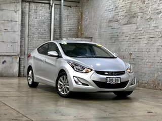 2015 Hyundai Elantra MD3 SE Silver 6 Speed Sports Automatic Sedan.