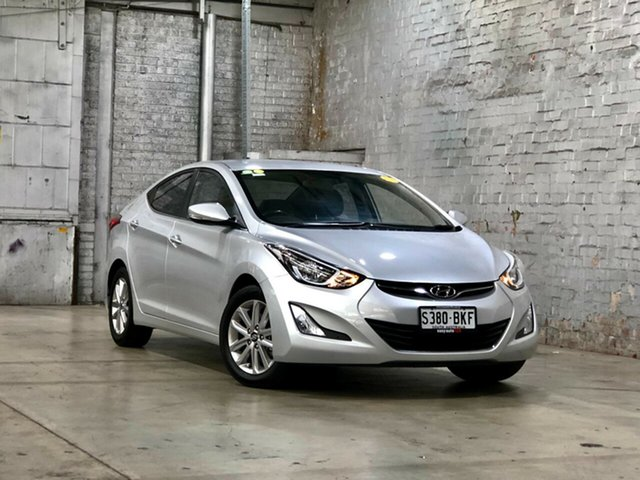 Used Hyundai Elantra MD3 SE Mile End South, 2015 Hyundai Elantra MD3 SE Silver 6 Speed Sports Automatic Sedan