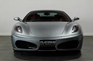 2006 Ferrari F430 F136 F1 Silver 6 Speed Seq Manual Auto-Clutch Coupe.
