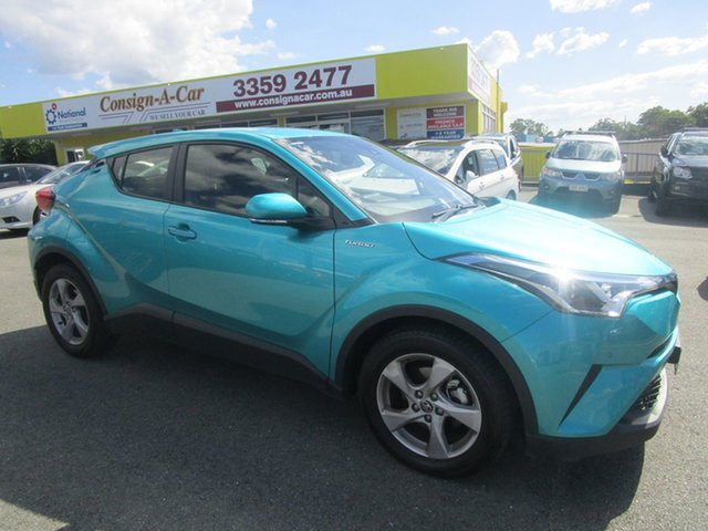 Used Toyota C-HR NGX10R S-CVT 2WD Kedron, 2017 Toyota C-HR NGX10R S-CVT 2WD Teal Green 7 Speed Constant Variable Wagon