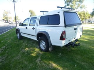 2007 Holden Rodeo RA LX White Manual Utility